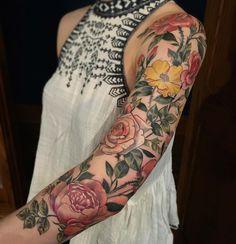 Flowery Sleeve