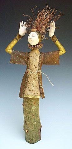 Tree Faun with Kimono Style Jacket by Akira Blount (copyright 2003 Akira Studios)