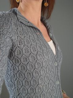 Ravelry: UandIKnits Blue-grey Cardi (*this shall now be known as Thorin's cardi!*)