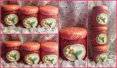 Potes decorado Biscuit