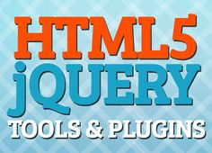 20 Most Recent HTML5 Tools and jQuery Plugins #html5 #jqueryplugins #html5tools