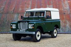 1983 Land Rover Series III - 1 family owner, 27,500 miles For Sale