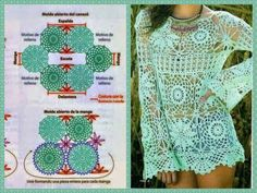 Fabulous Crochet a Little Black Crochet Dress Ideas. Georgeous Crochet a Little Black Crochet Dress Ideas. Crochet Bodycon Dresses, Crochet Summer Dresses, Black Crochet Dress, Crochet Top, Crochet Tunic Pattern, Crochet Diagram, Crochet Cardigan, Crochet Patterns, Hippie Crochet