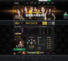 web casino on Behance Tv Wall Design, Web Design, Logo Design, Free Casino Slot Games, Casino Poker, Website Layout, Fall Nail Designs, Live Casino, Behance