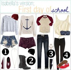 """""""First Day Of School 