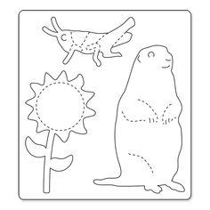 Prairie Dog Silhouette Custom Die Cut Vinyl Decal Sticker