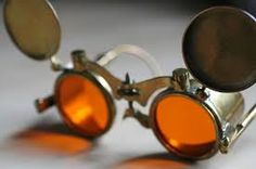 Make Your Own Steampunk Spectacles Steampunk Goggles, Steampunk Costume, Round Sunglasses, Mirrored Sunglasses, Rose Colored Glasses, Geek Gadgets, Unusual Things, Make Your Own, Weekend Projects