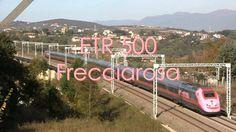 ETR 500 Frecciarosa a Capena - ETR 500 Frecciarosa in Capena