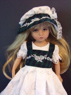"Dress Vest Pantaloons Hat Shoes Dianna Effner 13""Little Darling Doll Handmade | eBay"