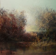 Saatchi Online Artist: Maurice Sapiro; Oil, 2013, Painting First Light, The Marsh
