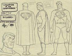 Bizarro Model - Challenge of the Super Friends -  Sheet Comic Art