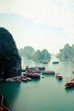 Bahía de Halong. Vietnam. Google +