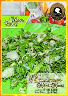 Menu Trancam tersedia hanya di cabang Food Court Solo Grand Mall Lantai 3