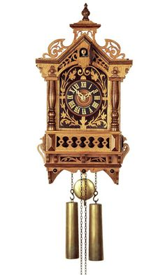 8-Day Cuckoo Clock Baroque Clock Replica from august-schwer.com