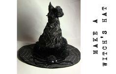 How to make a witch's hat