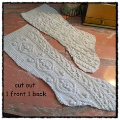 IsabellasCloset  how to make a Christmas sweater stocking ~mbr~