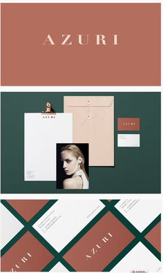 Azuri Cosmetics Branding by Dezeynne | Fivestar Branding Agency – Design and Branding Agency & Curated Inspiration Gallery