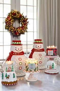 Join Mr. Frosty and his favorite home decor and candles for the holidays!