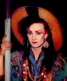 Boy George is one of the most beautiful girly gays. I dream to marry him. Culture Club, Youth Culture, London Nightclubs, Blitz Kids, Goth Glam, New Romantics, Club Kids, Boy George, My Favorite Music