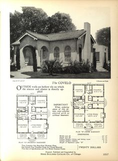 The Covelo | 1928 Home Builders Catalog
