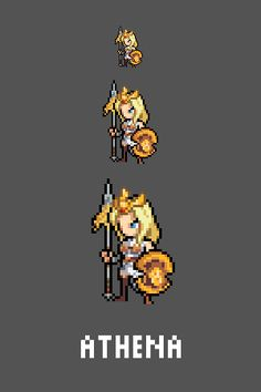 Athena Emote / Sprite we made for Smitewww.twitch.tv/smitegame