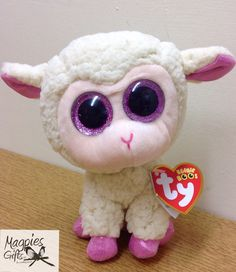 Getting ready for Easter with this colourful Lamb from TY now in stock at Magpies Gifts Magpies Gifts, Beanie Boos, Lamb, Plush, Teddy Bear, Easter, Toys, Animals, Color