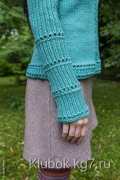 Пуловер с узором | Клубок