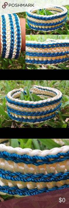 Simple crocheted bracelet Cute crochet bracelet for a casual day 😊 Accessories