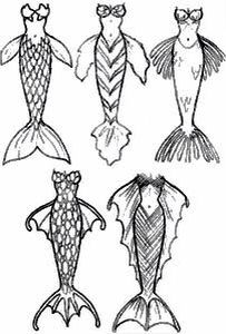 Mermaid body types