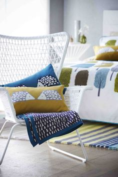 Knitted Spike cushions from Scion Living!