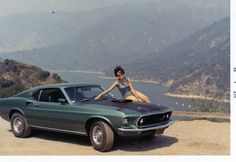 My Mom and my Dad's 69 Mustang Mach 1 - Imgur