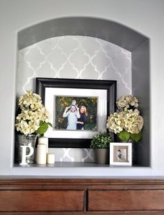 Wall Nook Decorating Ideas 29 Viral Decoration Stairway Decorating Decorating D… - Popular Alcove Decor, Niche Decor, Entryway Decor, Room Decor, Wall Decor, Entryway Ideas, Alcove Ideas, Nook Ideas, Wall Nook