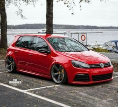VW golf mk6 R #volkswagengolfclassiccars