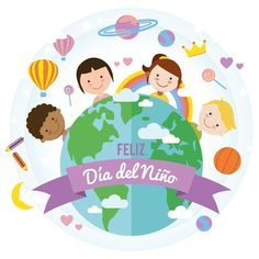 Children's day background with world in . Happy Children's Day, Happy Kids, Graphic Design Templates, Modern Graphic Design, Children's Day Photos, We Are The World, Child Day, Activities For Kids, Vector Free