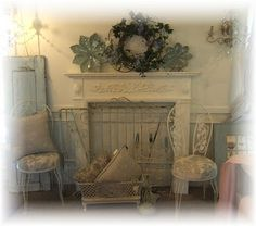 4 Portentous Useful Ideas: Corner Fireplace Redo fireplace cover tv cabinets.Limestone Fireplace Shelves fireplace remodel on a budget. Painted Fireplace Mantels, Fireplace Art, Country Fireplace, Craftsman Fireplace, Slate Fireplace, Simple Fireplace, Candles In Fireplace, Fireplace Bookshelves, Victorian Fireplace
