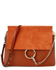 Spotted this Chloe Faye Suede & Calfskin Medium Shoulder Bag on Rue La La. Shop (quickly!).