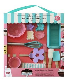 Handstand Kids Bake Shoppe Deluxe 25-Piece Baking Set | zulily