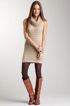 Simply Irresistible Sleeveless Sweater Dress