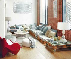 10 prächtige Wohnräume mit Paletten verziert 5