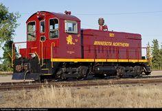 RailPictures.Net Photo: MNN 901 Minnesota Northern EMD SW8 at Crookston…