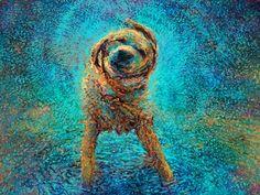 Iris-scott-finger oil paintings