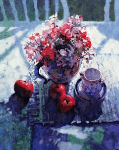 Bouquet with Apples/Michael Dudash ブーケ ウィズ アップルズ/43×33cm/ジクレ