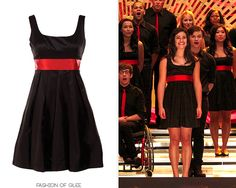 New Directions haven't always had designer taste in competition dresses - in fact, their iconic Sectionals dresses from Season 1 were by Bloomingdale's house brand, Aqua, and cost less than $90 each!...