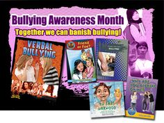 Bullying Prevention and Awareness Month-- educational resourcees from Crabtree Publishing