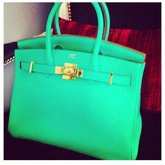 Love the colour of this Hermes bag!! Fashion 101 b412491291d5e