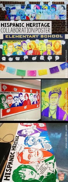 Hispanic Heritage month activity that is easy for teachers and fun for kids. Let students design this poster for Hispanic heritage month! Hispanic History Month, Hispanic Art, Hispanic Culture, Hispanic Heritage Month, Cesar Chavez, September Activities, Spanish Heritage, Spanish Class, 123 Spanish