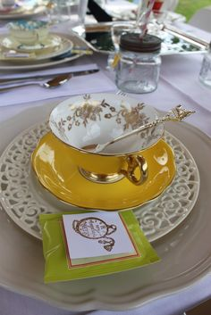 Adventures of Alice in wonderland Tea Party - A tea party for a bride to be (Drink up Alice!)