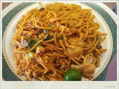 Mee Mamak Daging, CA Mohamed Restaurant, Kiulap, Brunei Darussalam
