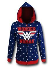 The cotton polyester Wonder Woman Reversible Women& Hoodie is pretty much two hoodies for the price of one! Oh, how DC Comics& Warrior Princess would be so proud. Wonderwoman Shirt, Wonder Woman, Held, Just In Case, Cool Outfits, Pretty Outfits, Jackets For Women, Graphic Sweatshirt, My Style