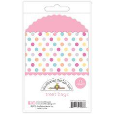 Doodlebug Design - Sugar Shoppe Collection - Treat Bags - Cupcake Sprinkles at Scrapbook.com